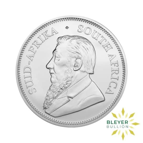 Bleyers Coin 1oz 2020 Silver Krugerrand BACK
