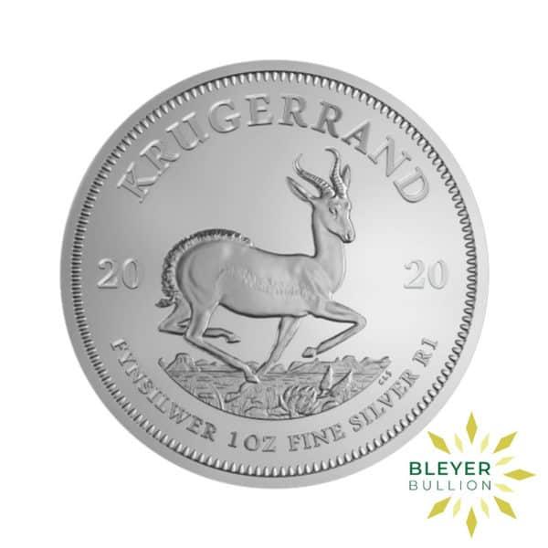 Bleyers Coin 1oz 2020 Silver Krugerrand FRONT