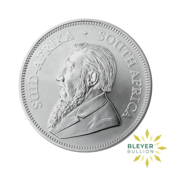 Bleyers Coin 1oz 2021 Silver Krugerrand BACK