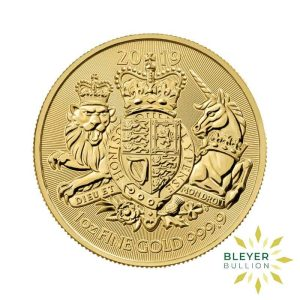 Bleyers Coin 1oz Gold UK The Royal Arms Coin 2019 1