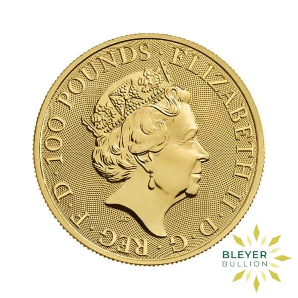 Bleyers Coin 1oz Gold UK The Royal Arms Coin 2019 2