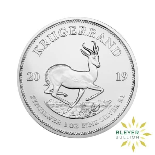 Bleyers Coin 1oz Silver Krugerrand FRONT
