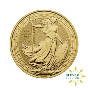 Bleyers Coin 1oz Gold UK Oriental Border Britannia Coin 2019 1