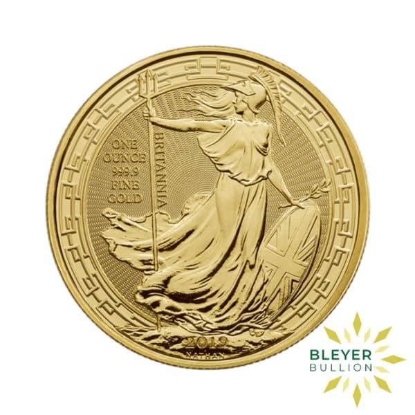 Bleyers Coin 1oz Gold UK Oriental Border Britannia Coin 2019 1