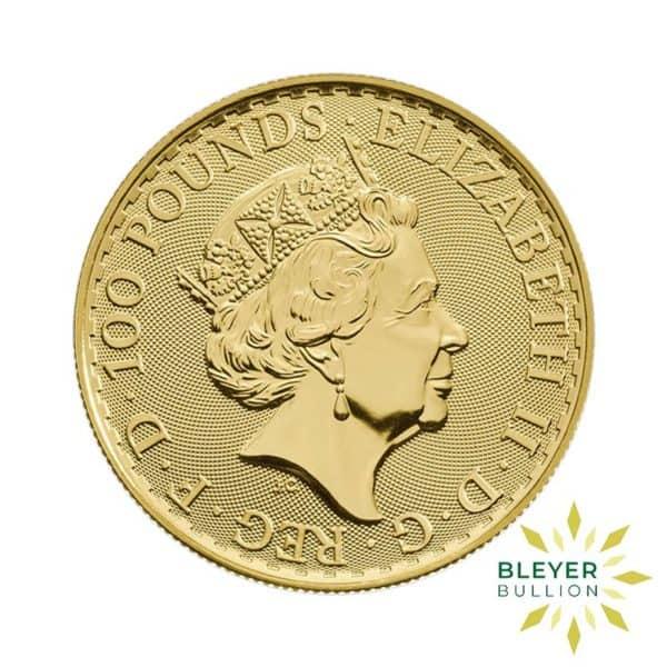 Bleyers Coin 1oz Gold UK Oriental Border Britannia Coin 2019 2