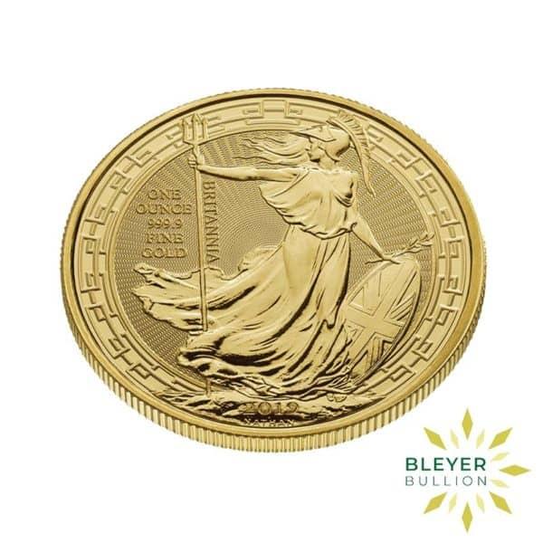 Bleyers Coin 1oz Gold UK Oriental Border Britannia Coin 2019 3