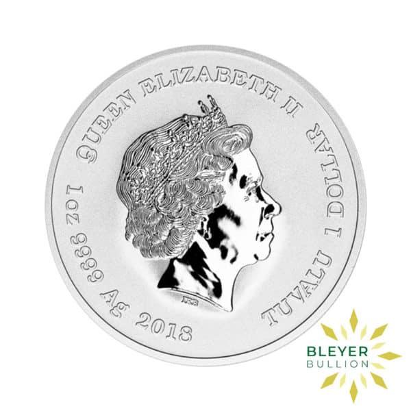 Bleyers Coin 1oz Silver Tuvalu Marvel Thor Coin 2018 2