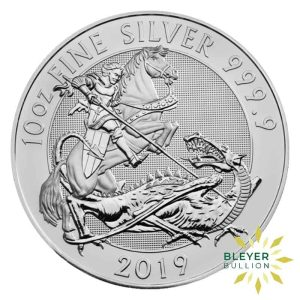 Bleyers Coins 10oz Silver UK Valiant 2019 1