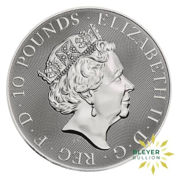 Bleyers Coins 10oz Silver UK Valiant 2019 2