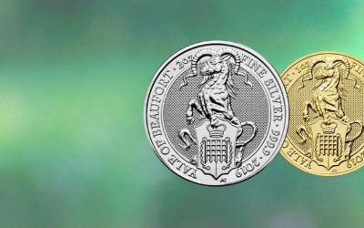 NEW The Royal Mint's Queen's Beast 2019 Yale Coins