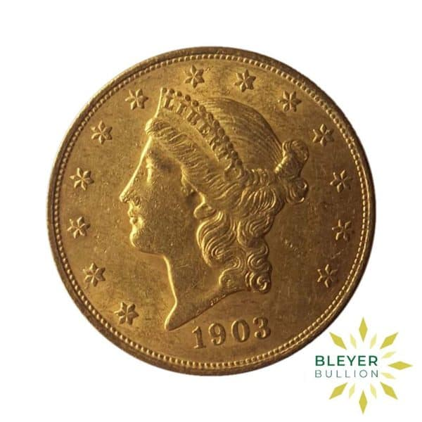 Bleyers Coin Best Value 20 Gold US Double Eagle Liberty Head Coin 1