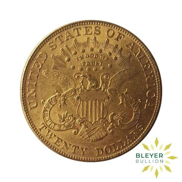 Bleyers Coin Best Value 20 Gold US Double Eagle Liberty Head Coin 2
