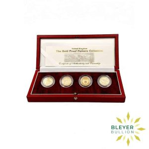 Bleyers Coin UK Gold Proof One Pound Pattern Collection 2004 1