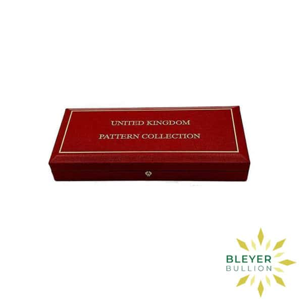 Bleyers Coin UK Gold Proof One Pound Pattern Collection 2004 3