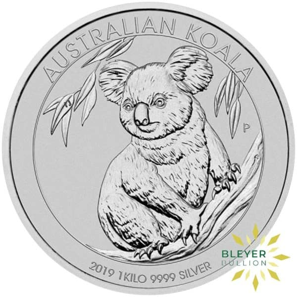 Bleyers Coins 1kg Silver Australian Koala Coin 2019 1