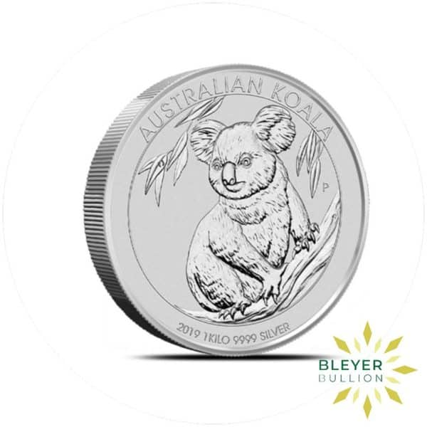 Bleyers Coins 1kg Silver Australian Koala Coin 2019 3
