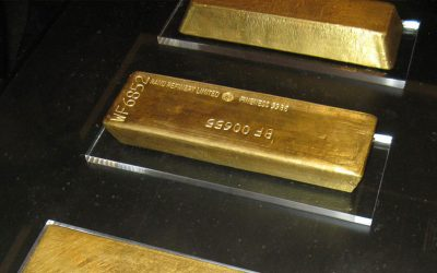 What's Happening Inside The World's Central Bank Gold Vaults?