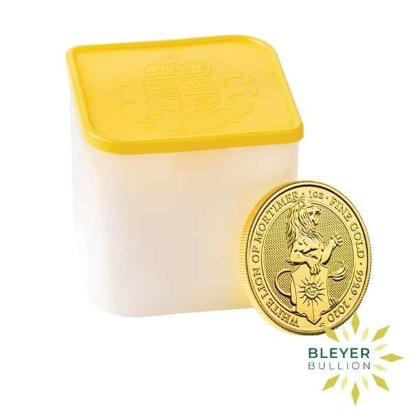 Bleyers Coin 1oz Gold Lion 3