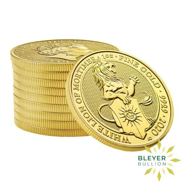 Bleyers Coin 1oz Gold Lion 5