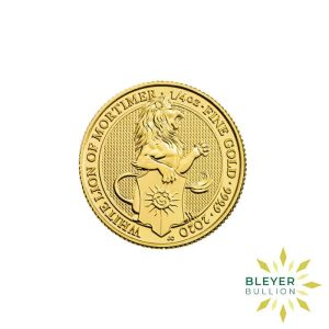 Bleyers Coins 1 4oz Gold UK Queens Beasts Lion 2020 1