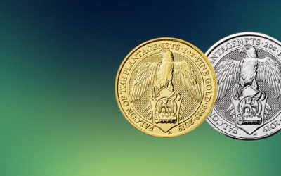 NEW COIN – The Royal Mint's Queen's Beast 2019 'Falcon' Coins