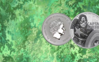 NEW COIN – Tuvalu's 2019 'Captain America' Marvel Series Coin