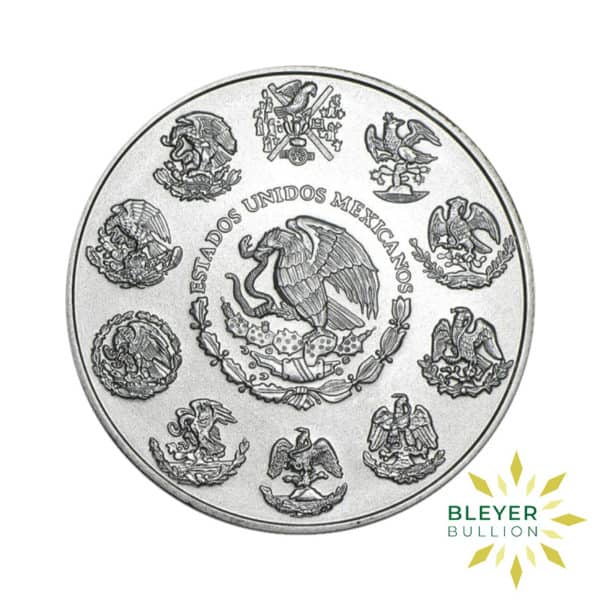 Bleyers Coin 1oz Libertad 2020 BACK