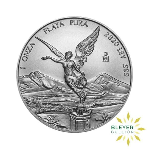 Bleyers Coin 1oz Libertad 2020 FRONT