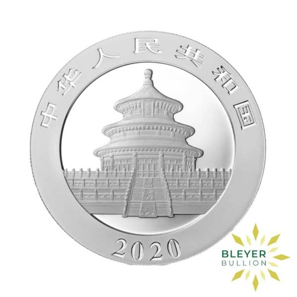 Bleyers Coin 30g Silver Chinese Panda Coin 2020 2