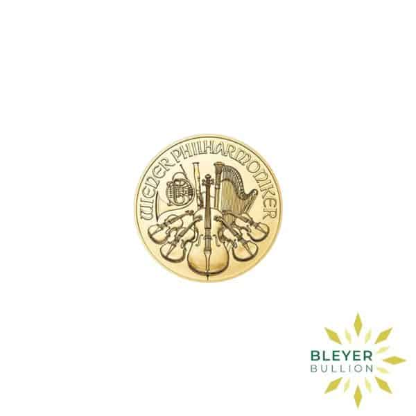 Bleyers Coins 1 10oz Gold Austrian Philharmoniker Coin 2018 1