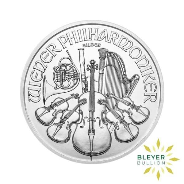 Bleyers Coins 1oz Silver Austrian Philharmoniker Coin 2020 1