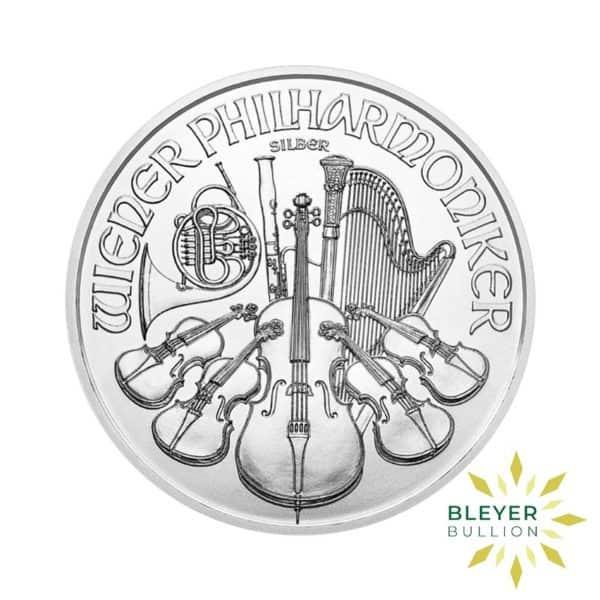 Bleyers Coins 1oz Silver Austrian Philharmoniker Coin 2021 2