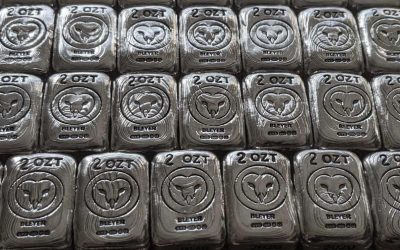 Hand Poured 2020 Silver Charity Owl Bars Land at Bleyer