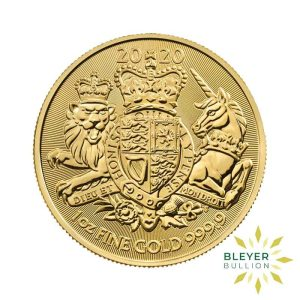 Bleyers Coin 1oz Gold UK The Royal Arms Coin 2020 1