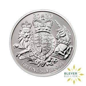 Bleyers Coin 1oz Silver UK The Royal Arms Coin 2020 1