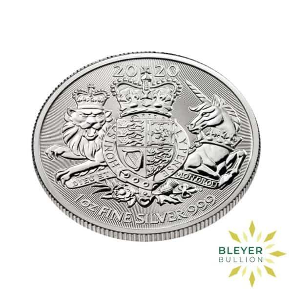 Bleyers Coin 1oz Silver UK The Royal Arms Coin 2020 3