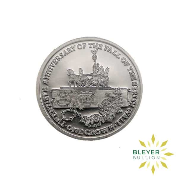 Bleyers Coin Proof 1oz Palladium 20th Anniversary of the Fall of the Berlin Wall Coin 2