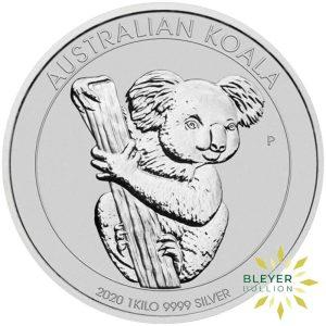 Bleyers Coins 1kg Silver Australian Koala Coin 2020 4