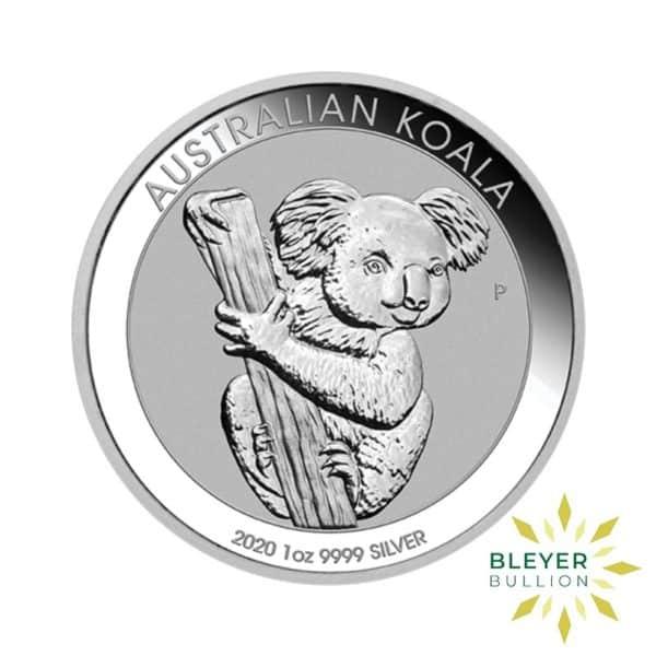 Bleyers Coins 1oz Silver Australian Koala coin 2020 1
