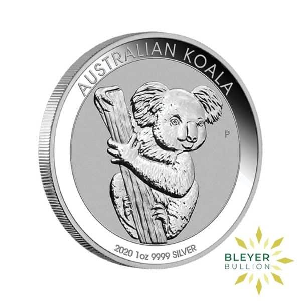 Bleyers Coins 1oz Silver Australian Koala coin 2020 3