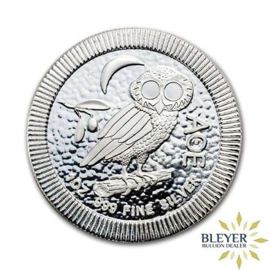 1oz Silver NIUE Athenian Owl Stackable Coin