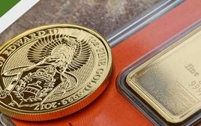 Differences Between Gold Bars & Coins