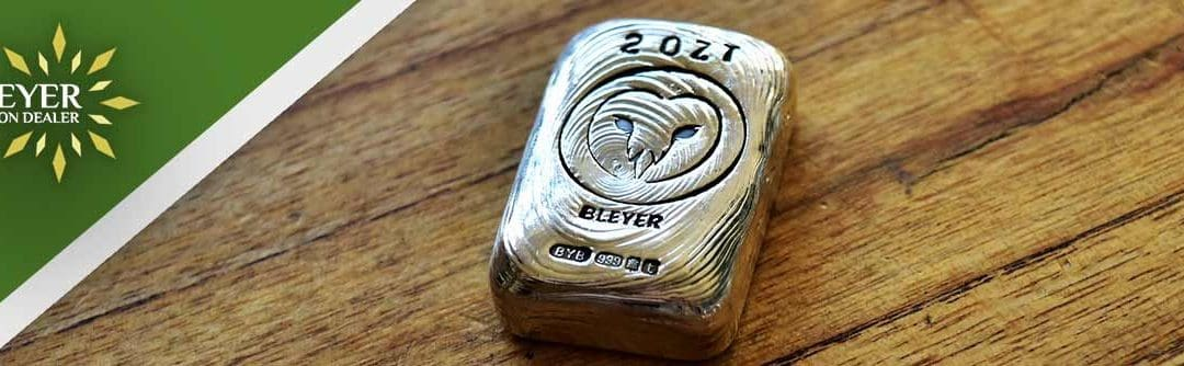 Hand Poured Silver Charity Owl Bars Exclusive to Bleyer