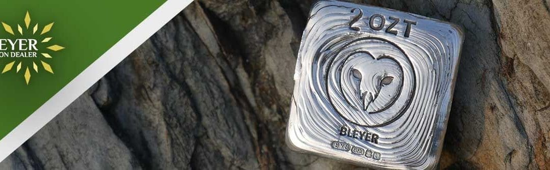 Hand Poured Silver Charity Owl Bars Return to Bleyer