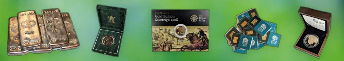Special Offer Gold and Silver Investment Bullion Bars and Coins available from Bleyer's website