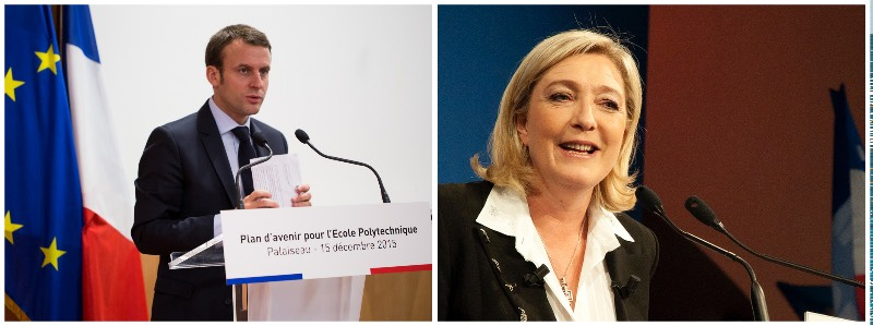 France's general election final candidates