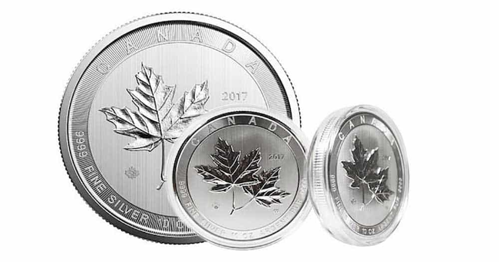 Canadian 10oz Silver Investment Bullion Coin
