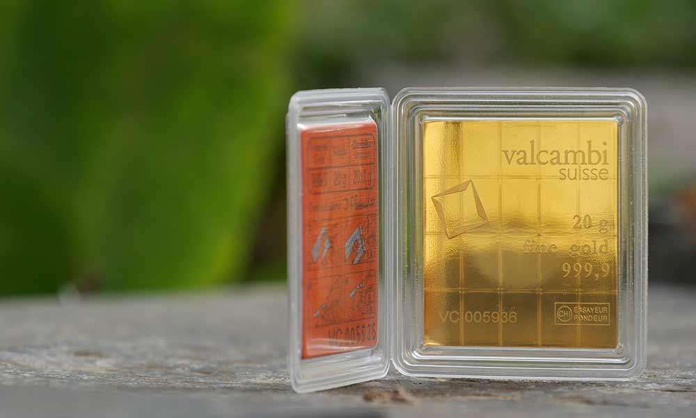 20g Gold Valcambi CombiBar