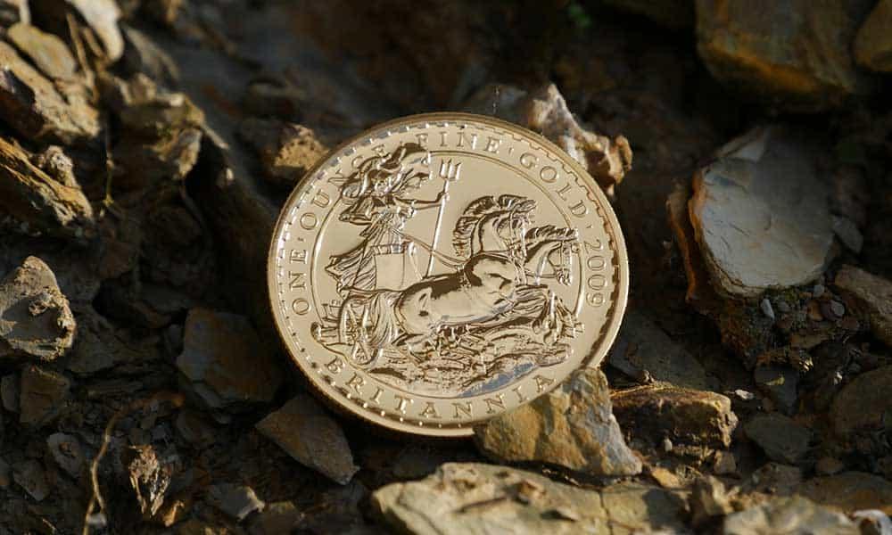 Parents buying 1oz Gold Britannia coins to benefit their kids and grandkids