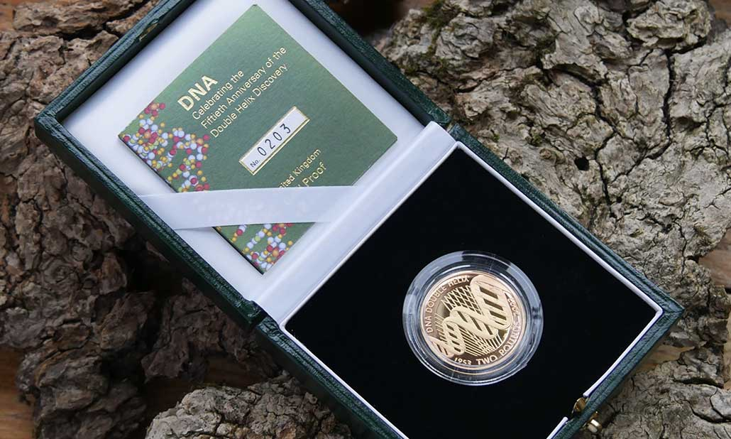 Grandparents creating a safe space for their grandchildren with a UK Gold Proof Two Pounds 2003 (Double Sovereign)